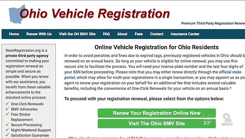Beware: Look-alike website charges big fee to renew your license plates