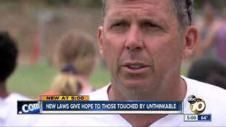 New laws give hope to those touched by unthinkable - Video