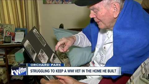 Struggling to keep a WWII Veteran in the home he built