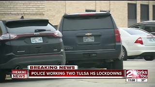 TPD worked 2 high school lockdowns Thursday morning - Video