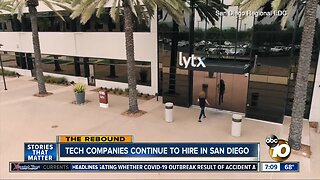 Tech companies continue to hire in San Diego