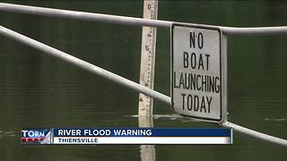 Rising flood waters deja vu for Thiensville residents