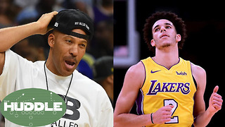 Fumble Hits 1 MILLION! Did Lonzo Ball's Dad LaVar Set Him Up to FAIL? -The Huddle - Video