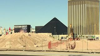 Pre-construction testing begins at Raiders Stadium site - Video