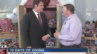 More toys needed for 13 Days of Giving to help Las Vegas Rescue Mission - Video
