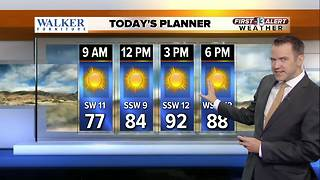 13 First Alert Weather for September 19 2017 - Video