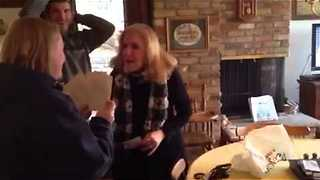 Parents Freak Out After Learning Daughter Is Having Triplets - Video
