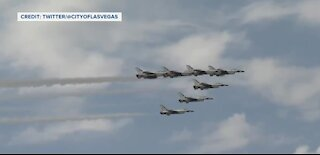 Where were the Thunderbirds today?
