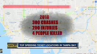 Top speeding ticket locations in Tampa Bay | Driving Tampa Bay Forward - Video