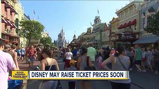 Disney expected to raise ticket prices amid dozens of construction projects - Video