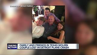 Victims in Detroit plane crash identified as husband & wife from Texas