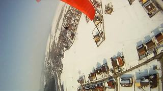 Amazing paragliding POV footage - Video