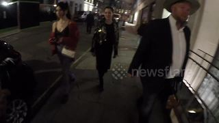 Rose McGowan attends event in London - Video