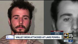 Valley mom attacked at Lake Powell - Video
