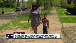 Mother cleared after 5-year-old's positive cocaine test was ruled a mistake - Video