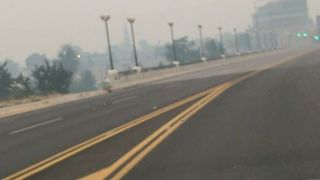 Missoula Shrouded in Smoke as Dozens of Wildfires Burn in Montana - Video
