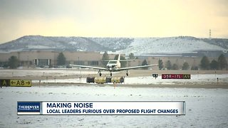 Making noise: Local leaders furious over proposed flight changes