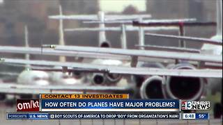 How often do planes have problems? - Video