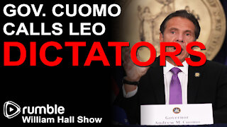 "Andrew Cuomo Calls Law Enforcement ""DICTATORS"""