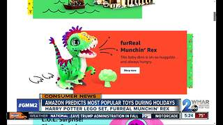 Amazon releases list of hottest 100 toys for holiday season