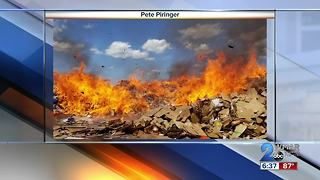 Georgetown Paper Stock Fire - Video