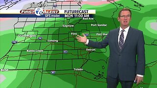 Cold Saturday and mild Sunday