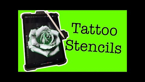 ✅How to make TATTOO STENCIL with Procreate!! ❗❗