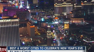 WalletHub: Best places to spend New Year's Eve - Video