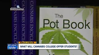 Cleveland Cannabis College curriculum expanding this fall - Video