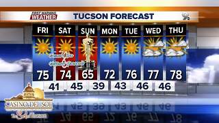 Chief Meteorologist Erin Christiansen's KGUN 9 Forecast Thursday, March 1, 2018 - Video