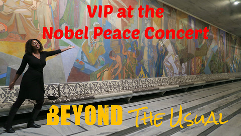 VIP at the Nobel Peace Concert