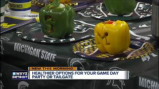 Healthy Tailgating Options - Video