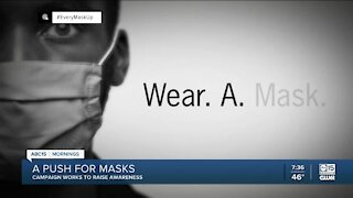 Campaign works to raise awareness for mask wearing
