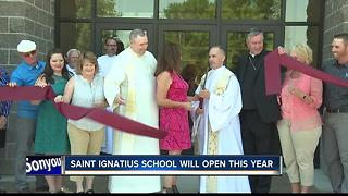 Saint Ignatius will open this upcoming school year