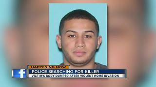 Police searching for killer - Video