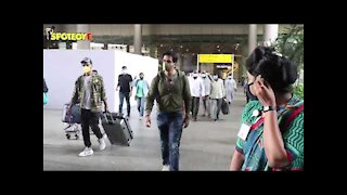 Spotted: Sonu Sood with his Wife at the Airport | SpotboyE