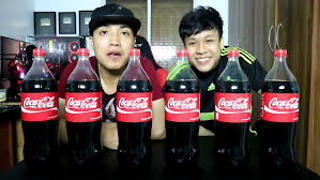 try to drinks 10kg coca-cola fun fun - Video