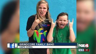 Local kids rock band hits one million views - Video