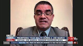 Prioritizing your health when looking for a job