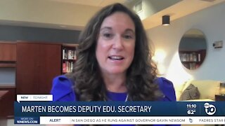 Cindy Marten becomes US Deputy Education Secretary
