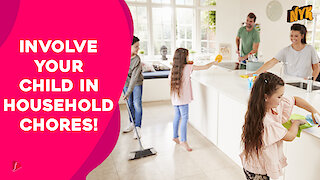 Top 4 Interesting Household Tasks Kids Can Help You With During Lock down :) :)