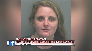 Suspect in deadly hit and run crash surrenders