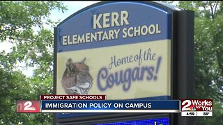 Immigration policy on campus