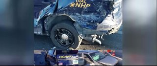 NHP vehicle hit by suspected impaired driver