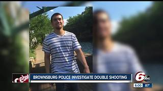Male victim in double shooting at HomeGoods Brownsburg distribution center dies - Video