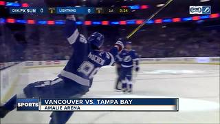 Nikita Kucherov ends goal drought, Tampa Bay Lightning beat Vancouver Canucks 5-2 - Video