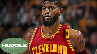 Paul George Being Traded to the CAVS!!? -The Huddle - Video