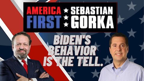 Biden's behavior is the tell. Rep. Devin Nunes with Sebastian Gorka on AMERICA First