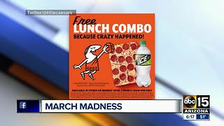 Little Ceasars offering free pizza! - Video