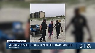 Pennsylvania homicide suspect arrested on Florida beach